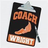 Track and Field Personalized Coach Clipboard - 21423