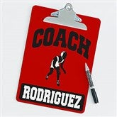 Wrestling Personalized Coach Clipboard - 21424