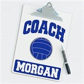 Volleyball Personalized Coach Clipboard - 21426