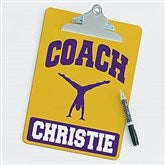 Gymnastics Personalized Coach Clipboard - 21430