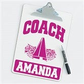 Cheerleading Personalized Coach Clipboard - 21431