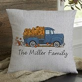 Classic Fall Vintage Truck Personalized 18