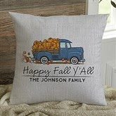 Classic Fall Vintage Truck Personalized 14