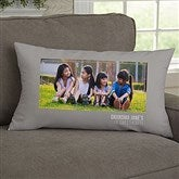 For Her Photo Personalized Lumbar Throw Pillow - 21452-LB