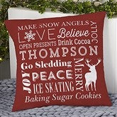 Holiday Traditions Personalized 18