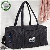 Alpha Delta Pi Embroidered Quilted Duffel Bag - 21501