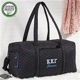Kappa Kappa Gamma Embroidered Quilted Duffel Bag - 21511