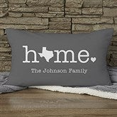 Home Personalized Lumbar Throw Pillow - 21527-LB