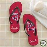 Delta Gamma Personalized Adult Flip Flops - 21564