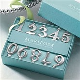 Mariposa Number Candle Holder Set - 21580