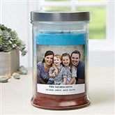 Picture Perfect Personalized Triple Pour Candle Jar - 21613