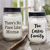Write Your Own Expressions Personalized Farmhouse Candle Jar - 21629