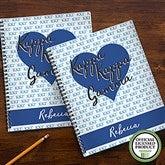 Kappa Kappa Gamma Personalized Large Notebooks-Set of 2 - 21644