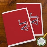 Delta Gamma Personalized Folders - Set of 2 - 21650
