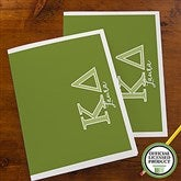 Kappa Delta Personalized Folders - Set of 2 - 21654