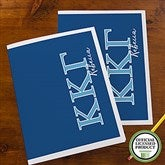 Kappa Kappa Gamma Personalized Folders - Set of 2 - 21655