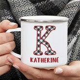 Farmhouse Christmas Personalized Camping Mug - 21659