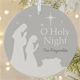 1-Sided O Holy Night Personalized Ornament- Large - 21709-1L