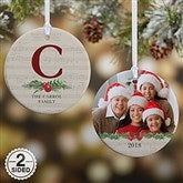 2-Sided Nostalgic Noel Personalized Ornament- Small - 21712-2S