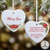 2-Sided For Someone Special Personalized Message Ornament- Small - 21720-2