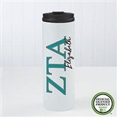 Zeta Tau Alpha Personalized 16oz. Travel Tumbler - 21816