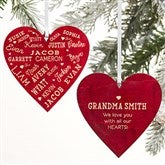 Close To Her Heart Message Personalized 2-Sided Natural - 21837-2