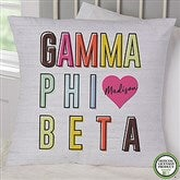 Gamma Phi Beta Personalized 18