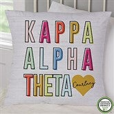 Kappa Alpha Theta Personalized 18