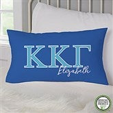 Kappa Kappa Gamma Personalized Lumbar Throw Pillow - 21859-LB