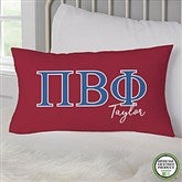 Pi Beta Phi Personalized Lumbar Throw Pillow - 21860-LB
