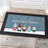 Gnome Family Personalized Doormat- 20x35 - 21864-M