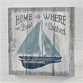 Up North Personalized Canvas Print- 8