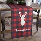 Cozy Cabin Personalized Table Runner- 16x96 - 21930