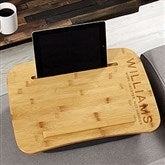 Bold Style Personalized Bamboo Lap Desk - 21938