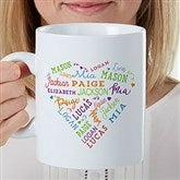 Close to Her Heart Personalized 30 oz. Oversized Coffee Mug - 22034