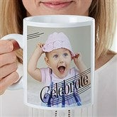 Photo Expressions Personalized 30 oz. Oversized Coffee Mug - 22037
