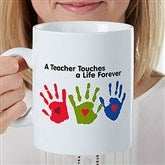 Touches a Life Personalized 30 oz. Oversized Coffee Mug - 22043