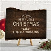 Cozy Cabin Personalized Basswood Planks- Small - 22082-S