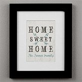 Farmhouse Home Personalized Framed Print - 8x10 - 22406-8x10