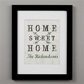 Farmhouse Home Personalized Framed Print - 11x14 - 22406-11x14
