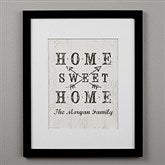 Farmhouse Home Personalized Framed Print - 16x20 - 22406-16x20