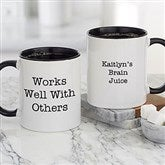 Office Expressions Personalized Coffee Mug 11 oz.- Black - 22649-B
