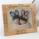 Grandma & Grandpa Personalized Frame- 8 x 10 - 2288-L