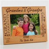 Grandma & Grandpa Personalized Frame- 5 x 7 - 2288-M