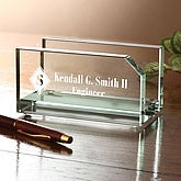 Executive Personalized Business Card Holder - 2370