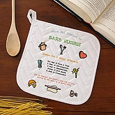 Recipe for a Happy Household© Potholder - 2419-P