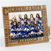 C is for Cheerleader Personalized Frame- 8 x 10 - 2425-L