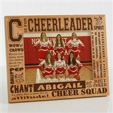C is for Cheerleader Personalized Frame- 5 x 7 - 2425-M