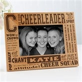 C is for Cheerleader Personalized Frame- 4 x 6 - 2425