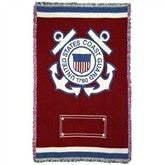 Proud To Serve Personalized Military Afghan - COAST GUARD - 2507D-CG
